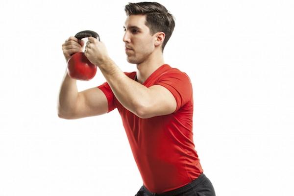 kettlebell weight exercise