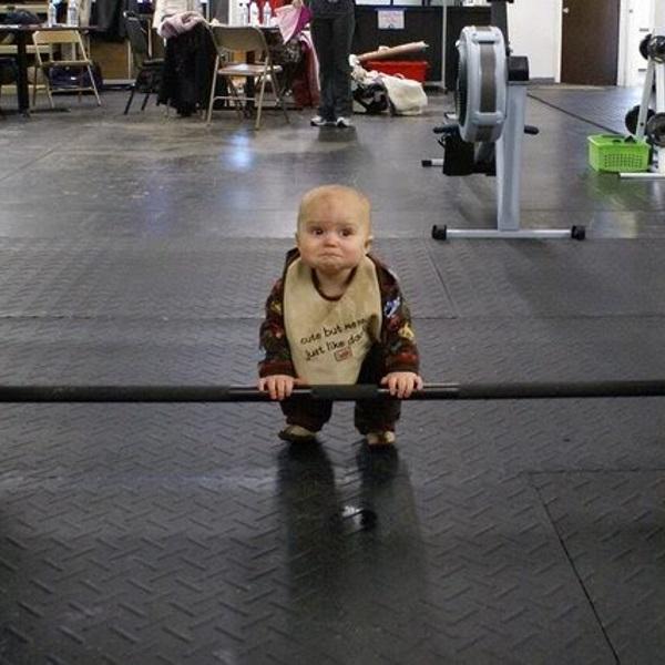 BabyDeadlifting
