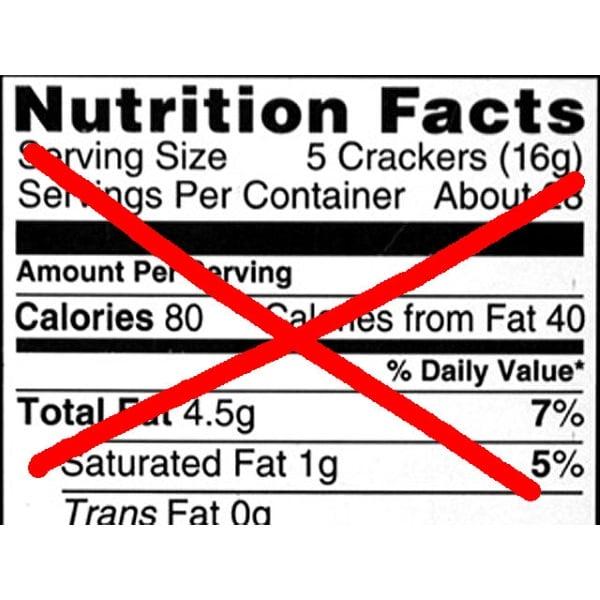 NutritionLabelx