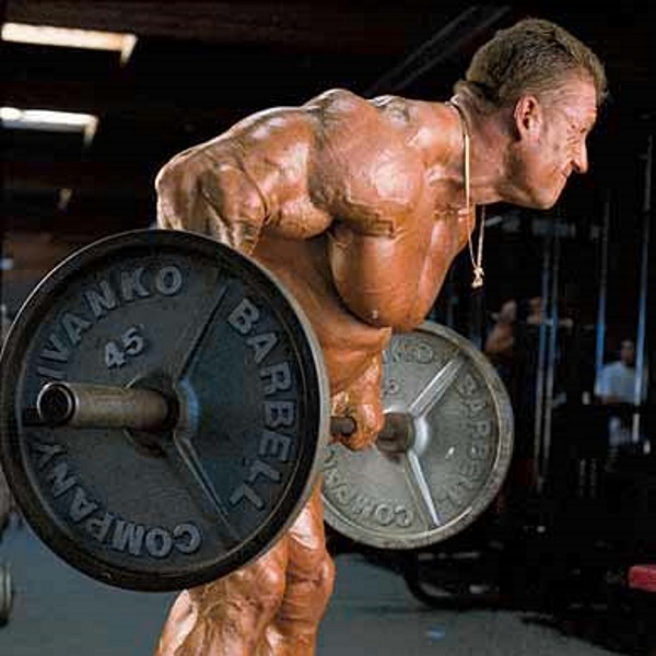 004 Back Dorian Yates BENT-OVER BARBELL ROW
