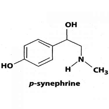Chemical-structure-of-p-synephrine